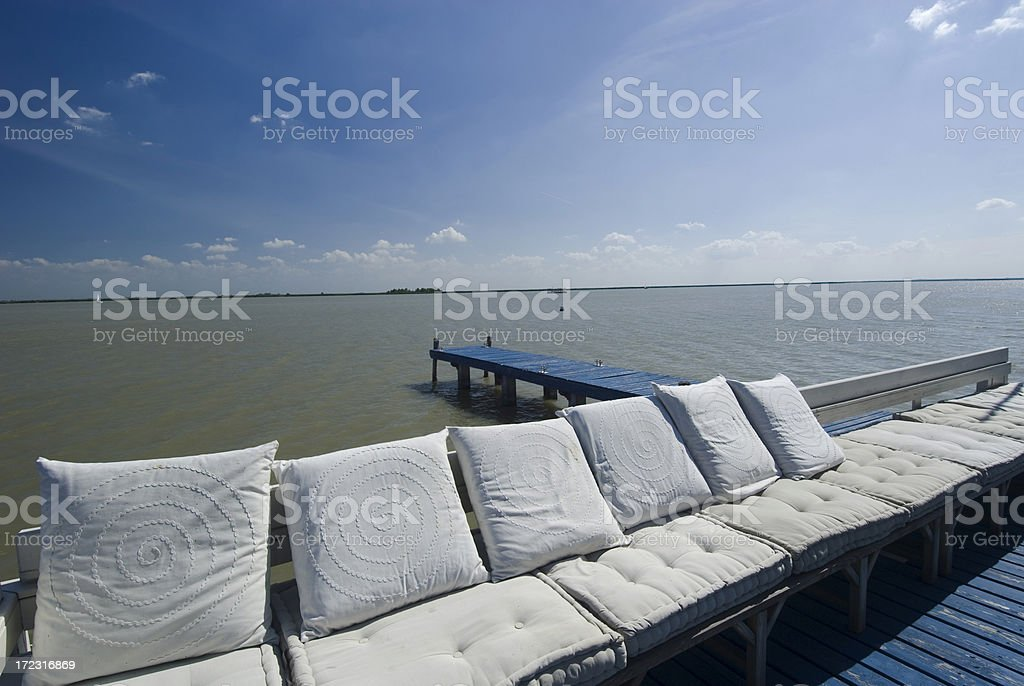 Lounge Area stock photo