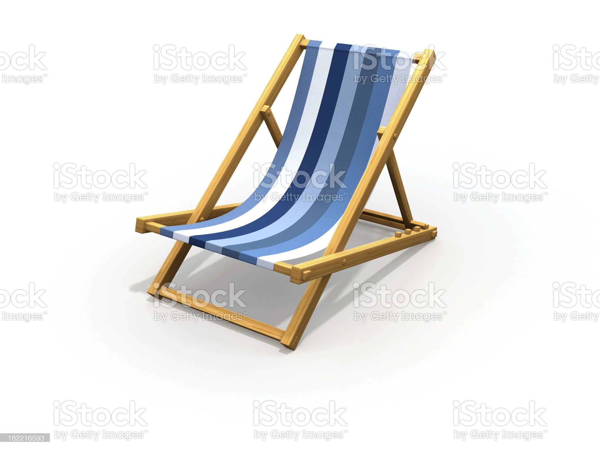 Chaise longue. royalty-free stock photo