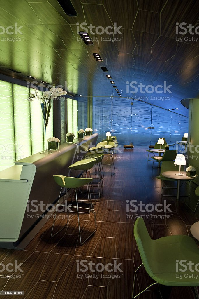 Lounge royalty-free stock photo