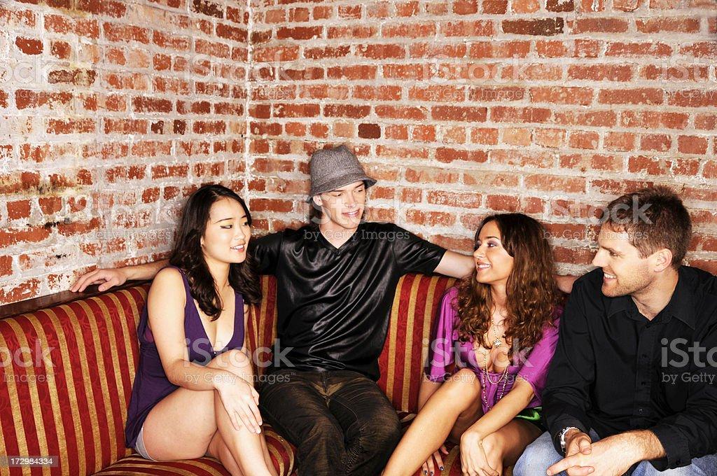 Lounge Scene stock photo