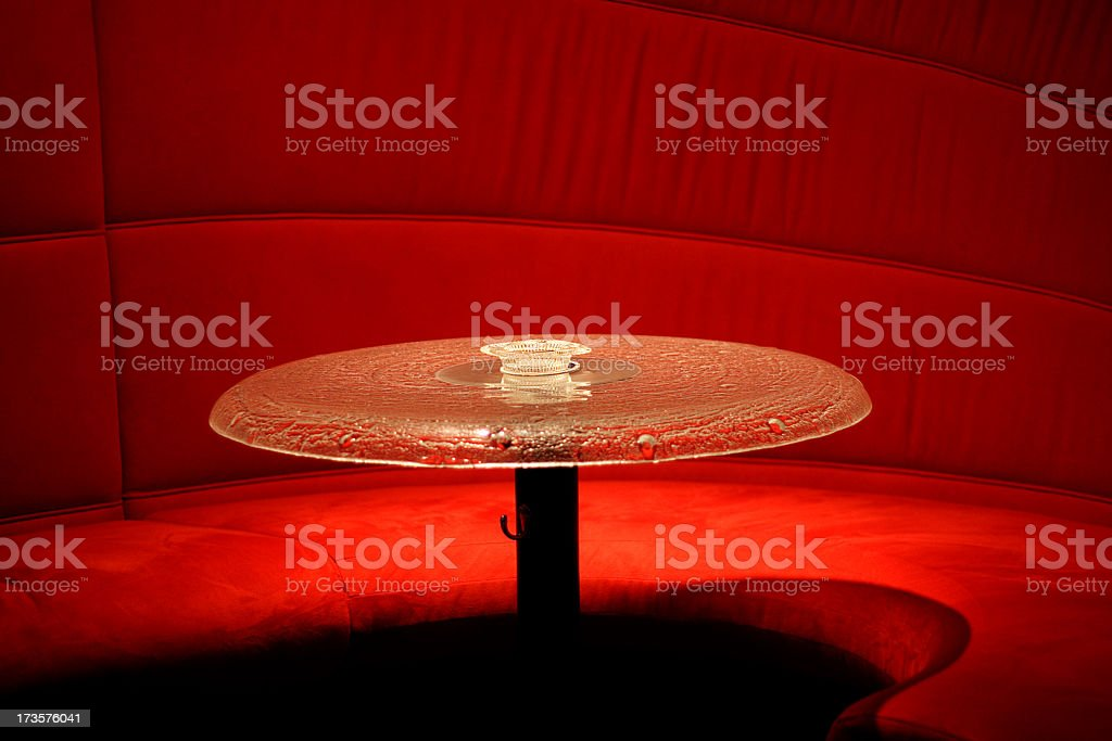 Lounge table royalty-free stock photo