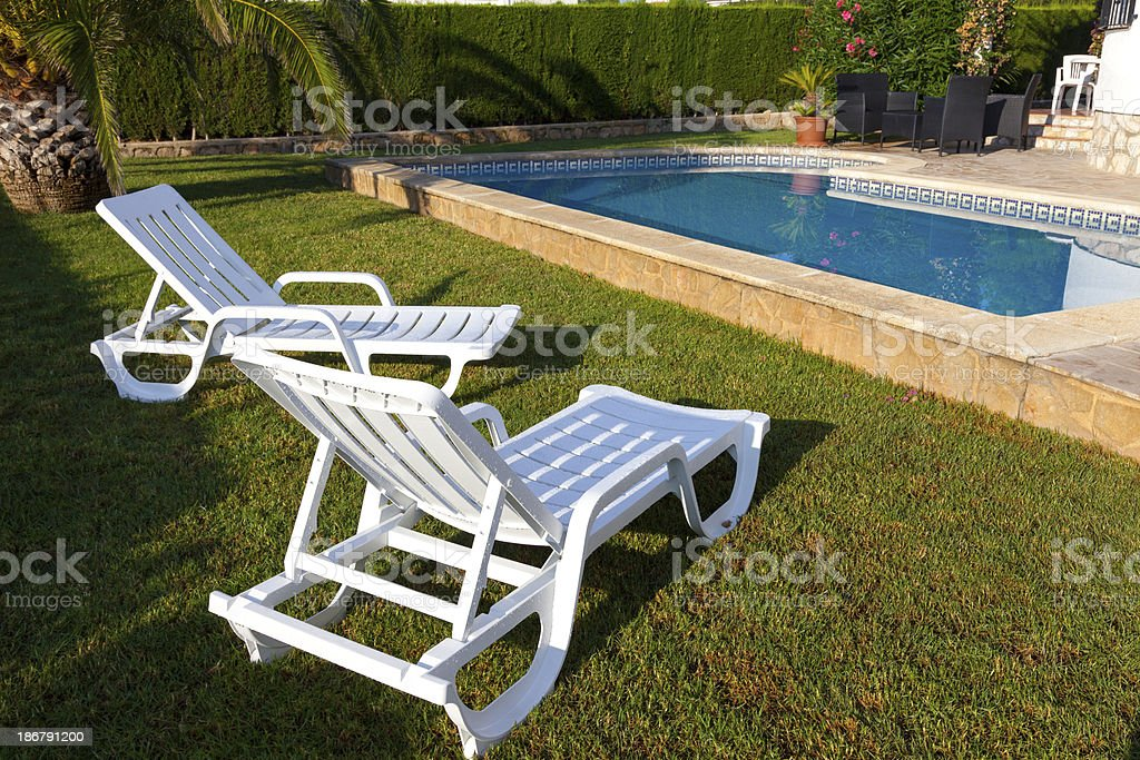 Loungers royalty-free stock photo