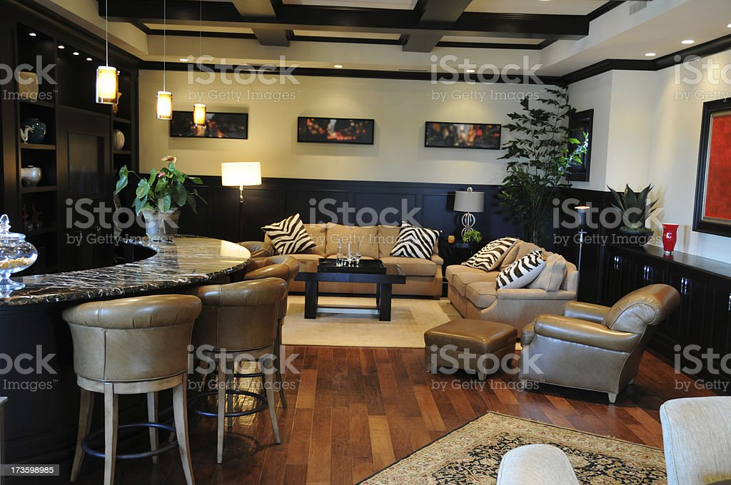 lounging area royalty-free stock photo
