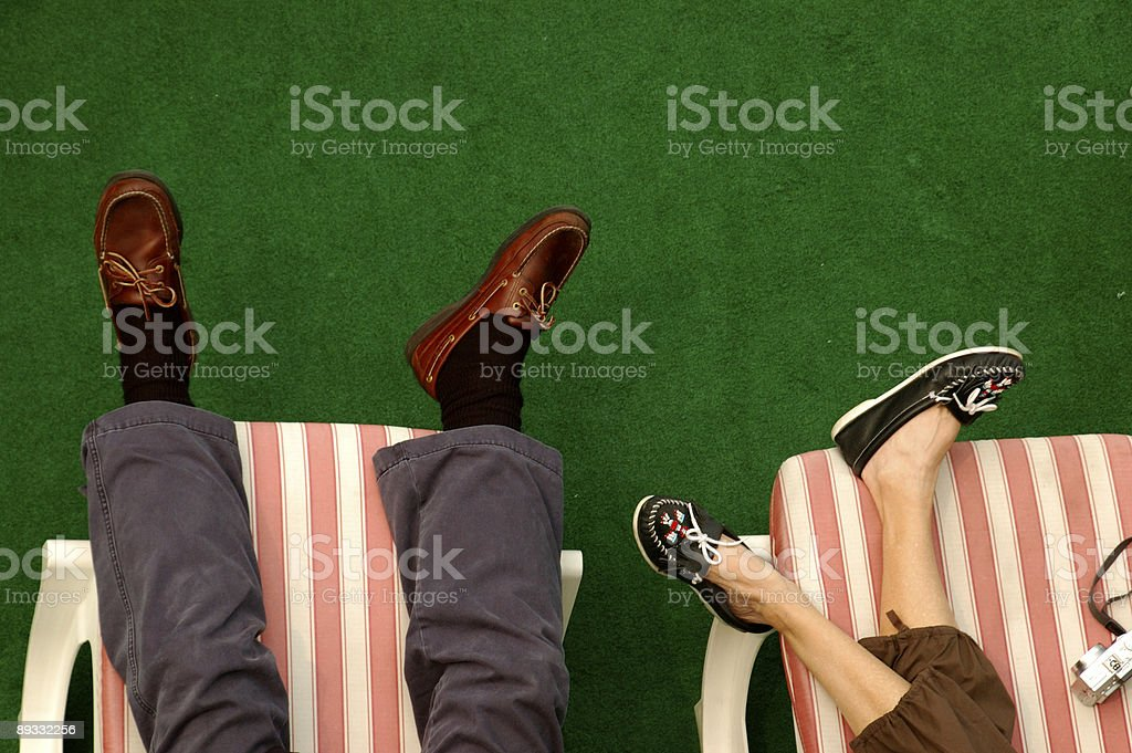 Lounging around royalty-free stock photo