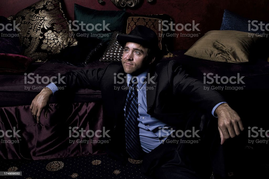 Lounging in Opulance stock photo