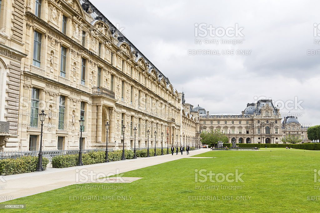 Louvre Museum, Paris royalty-free stock photo