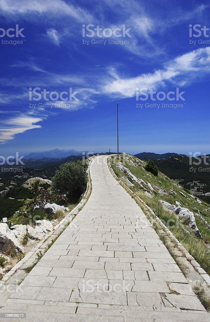 Lovcen national park, Montenegro stock photo