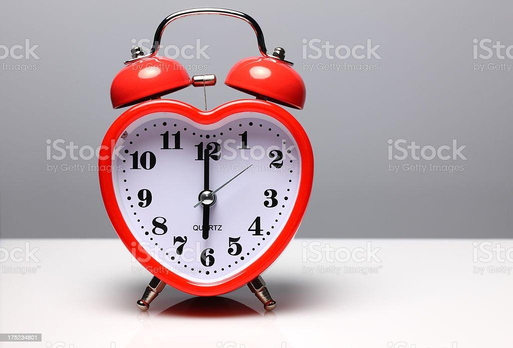 love alarm clock royalty-free stock photo