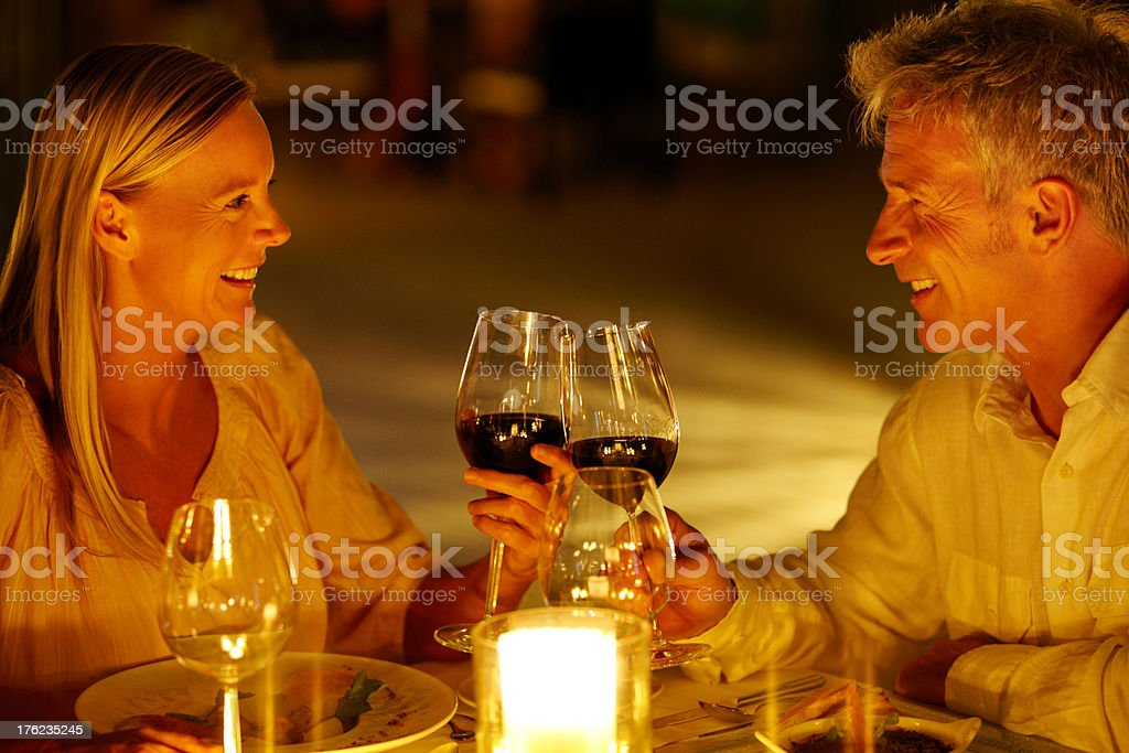 Love and devotion: a reason to celebrate stock photo
