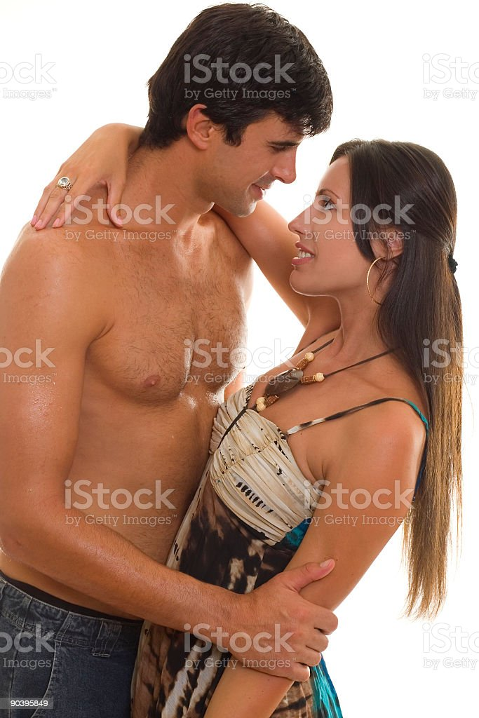 Love and Devotion stock photo