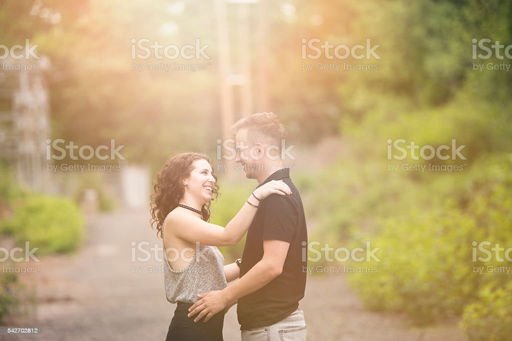 Love and joy stock photo