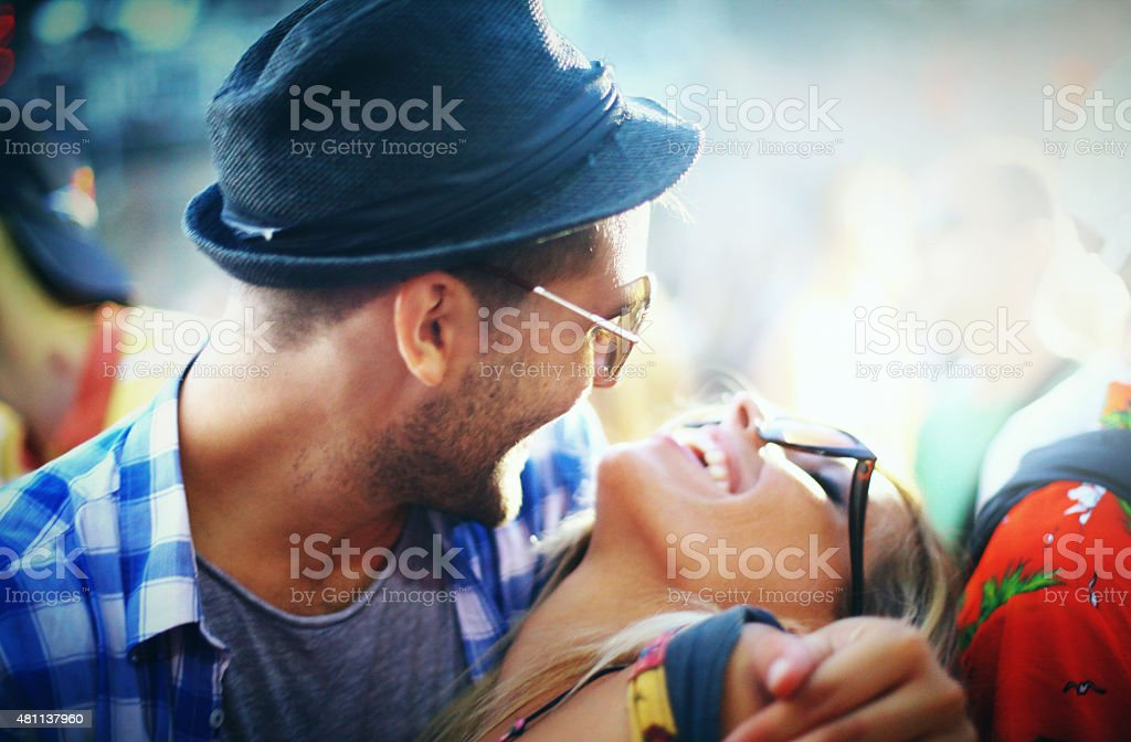 Love and music. stock photo
