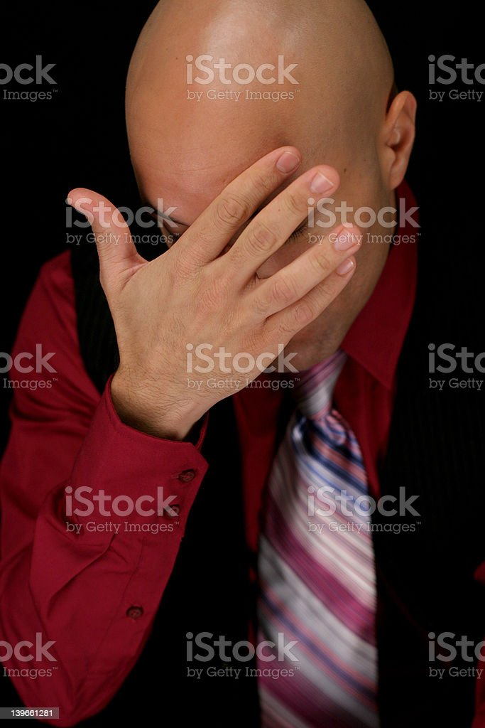 love and pain royalty-free stock photo