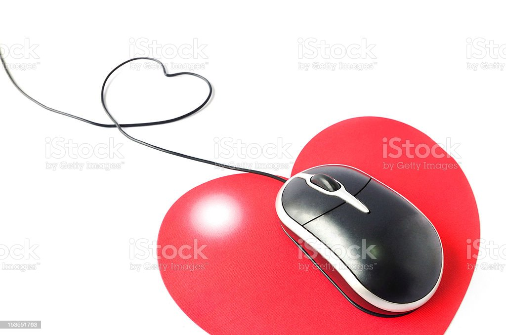 Love and work royalty-free stock photo