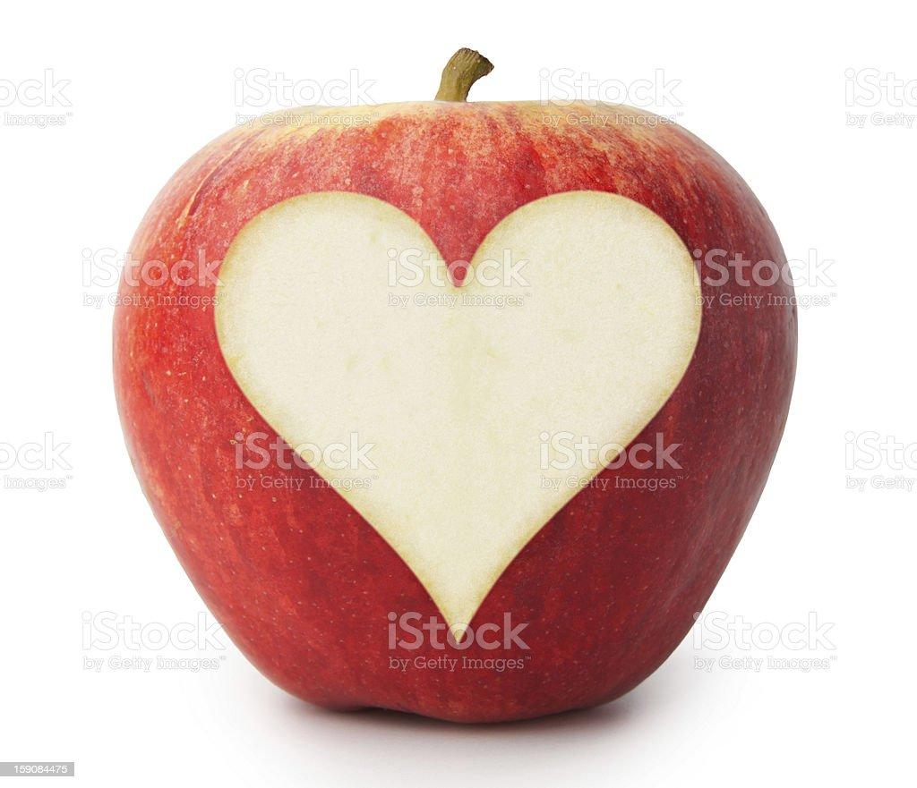 Love Apple royalty-free stock photo