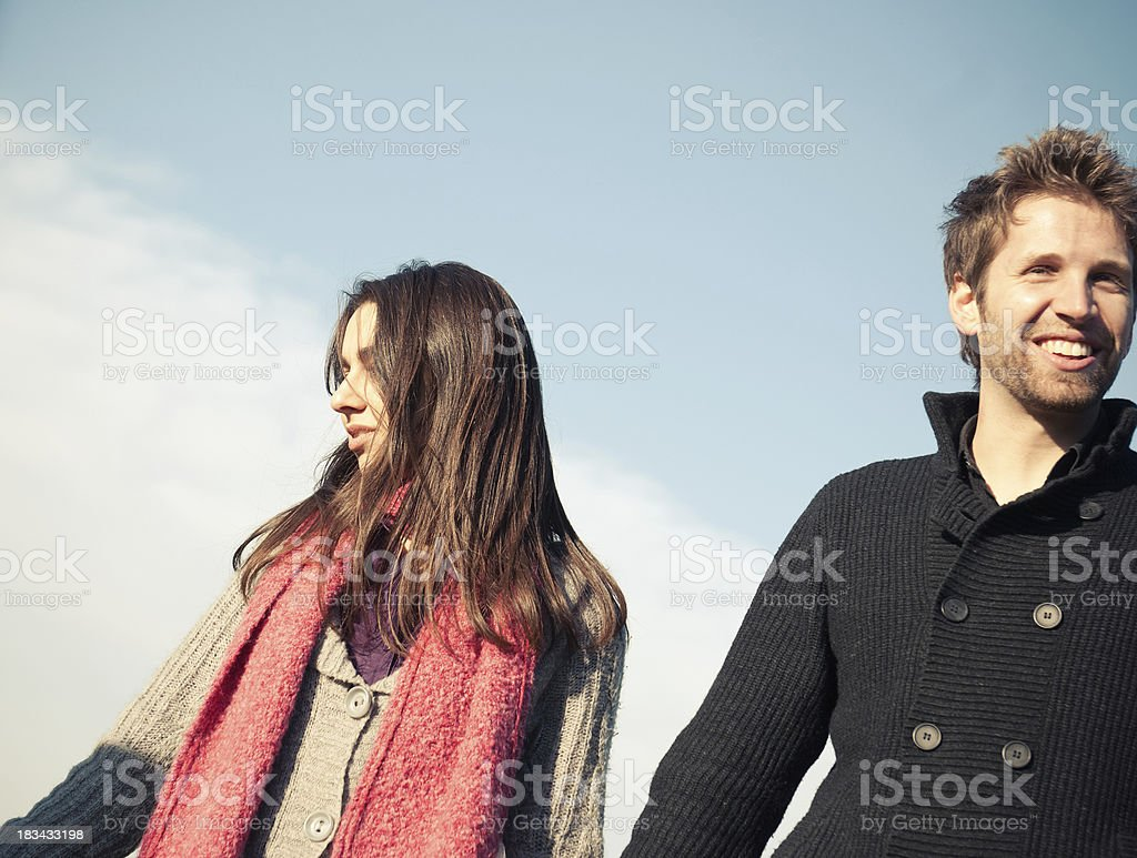 Love attraction - st. valentine royalty-free stock photo