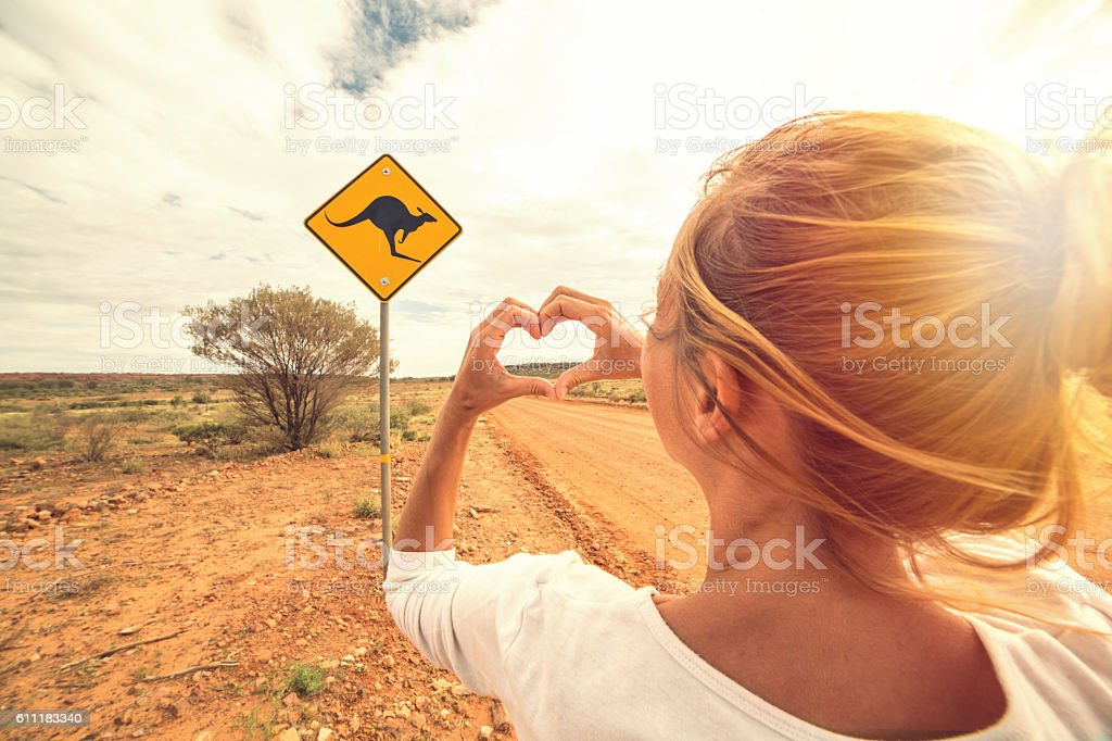 I love Australia stock photo