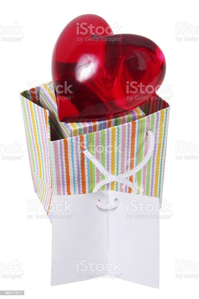 Love bag royalty-free stock photo
