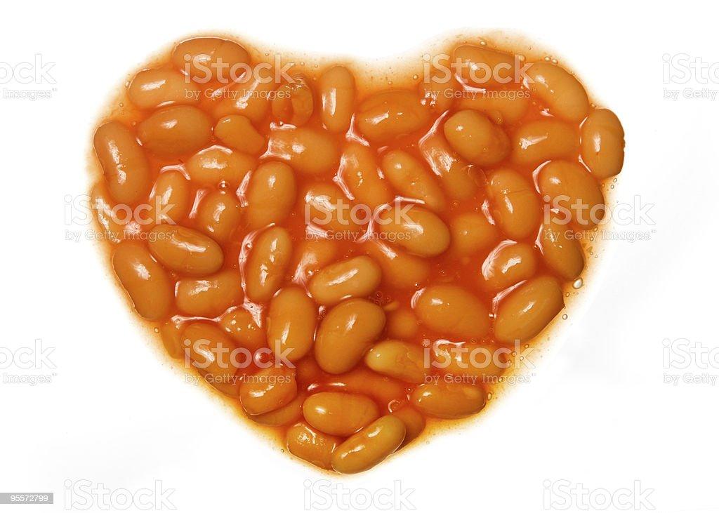 I love baked beans stock photo