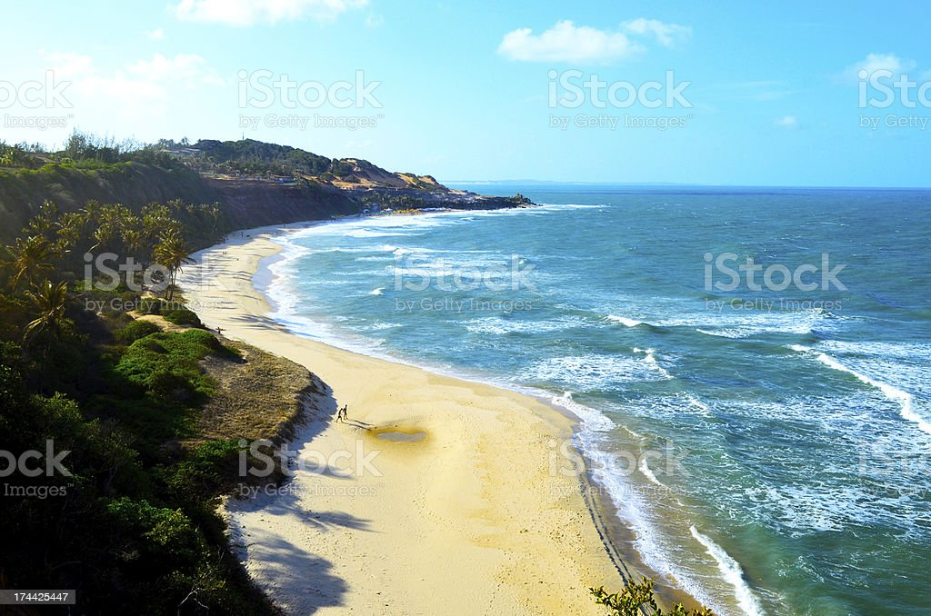 Praia do Amor stock photo