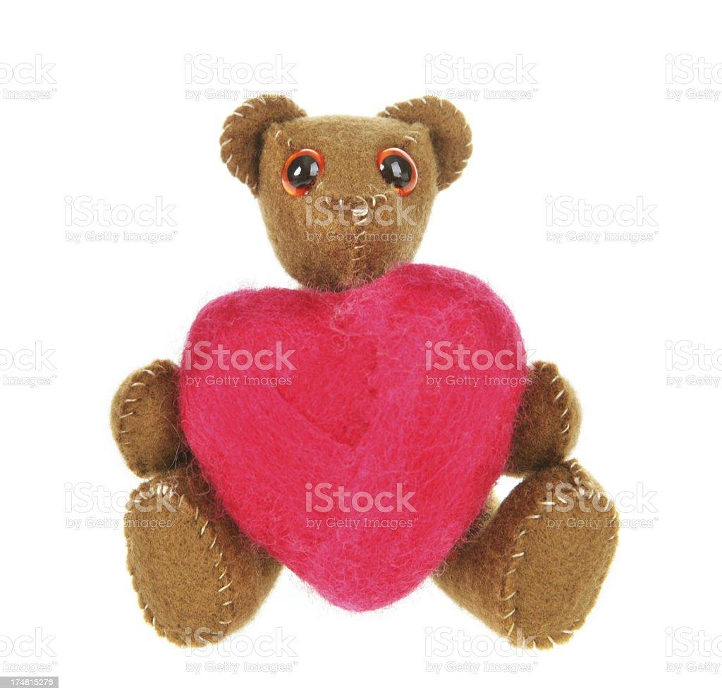 Love Bear royalty-free stock photo