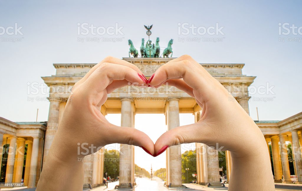 I love berlin stock photo