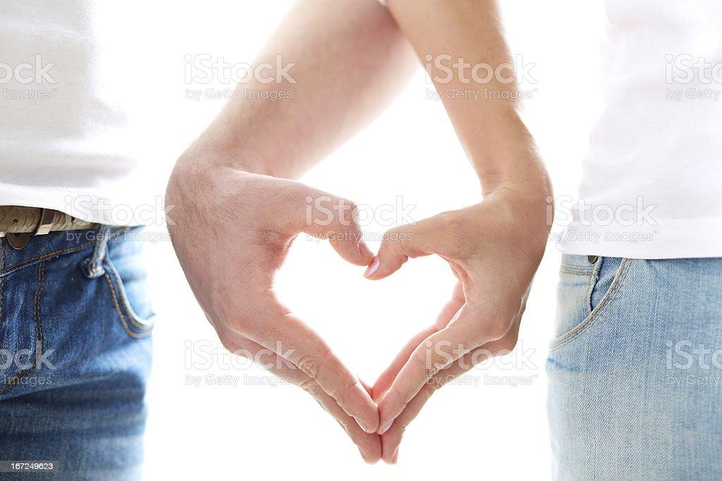 Love between us stock photo