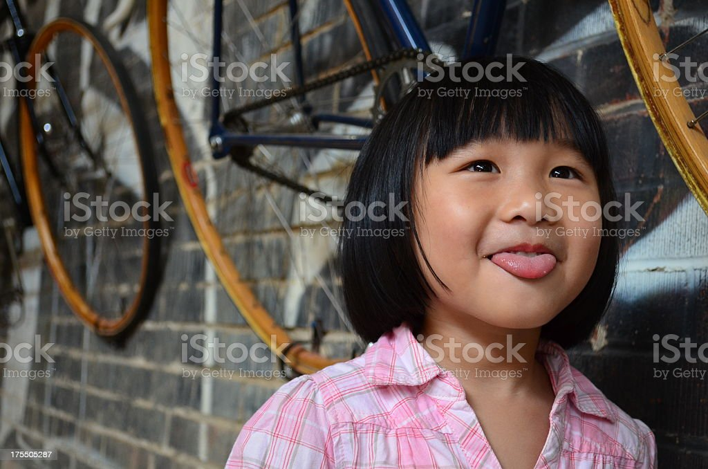 Love bicycling royalty-free stock photo