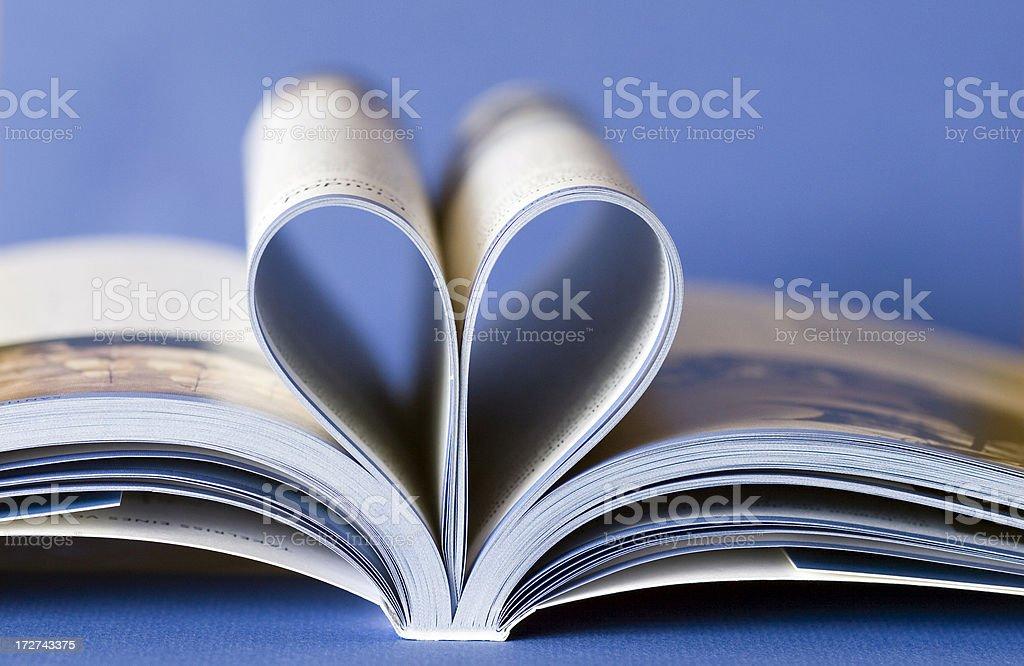 I love books royalty-free stock photo