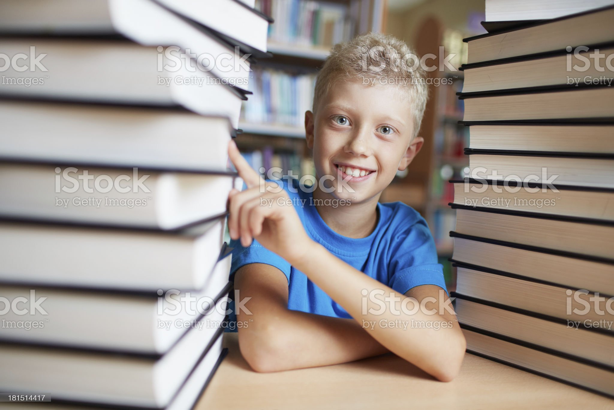 I love books royalty-free stock photo
