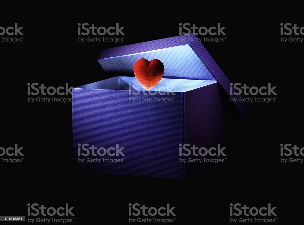 love box -   with clipping path stock photo