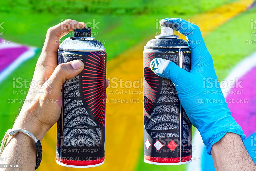Love Cans Difference stock photo