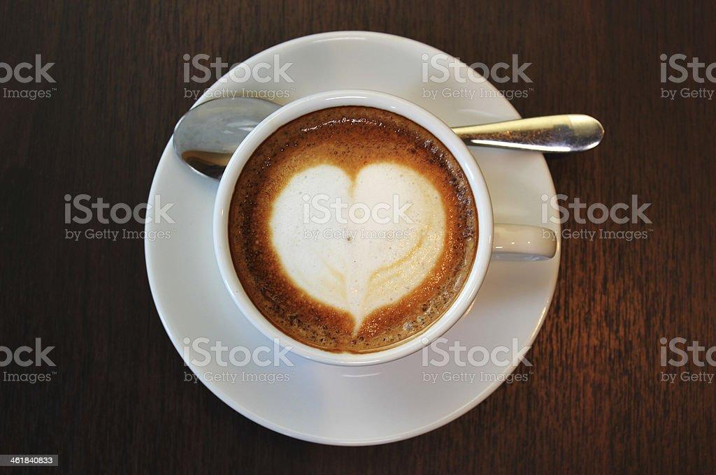 I Love Cappuccino 1 stock photo