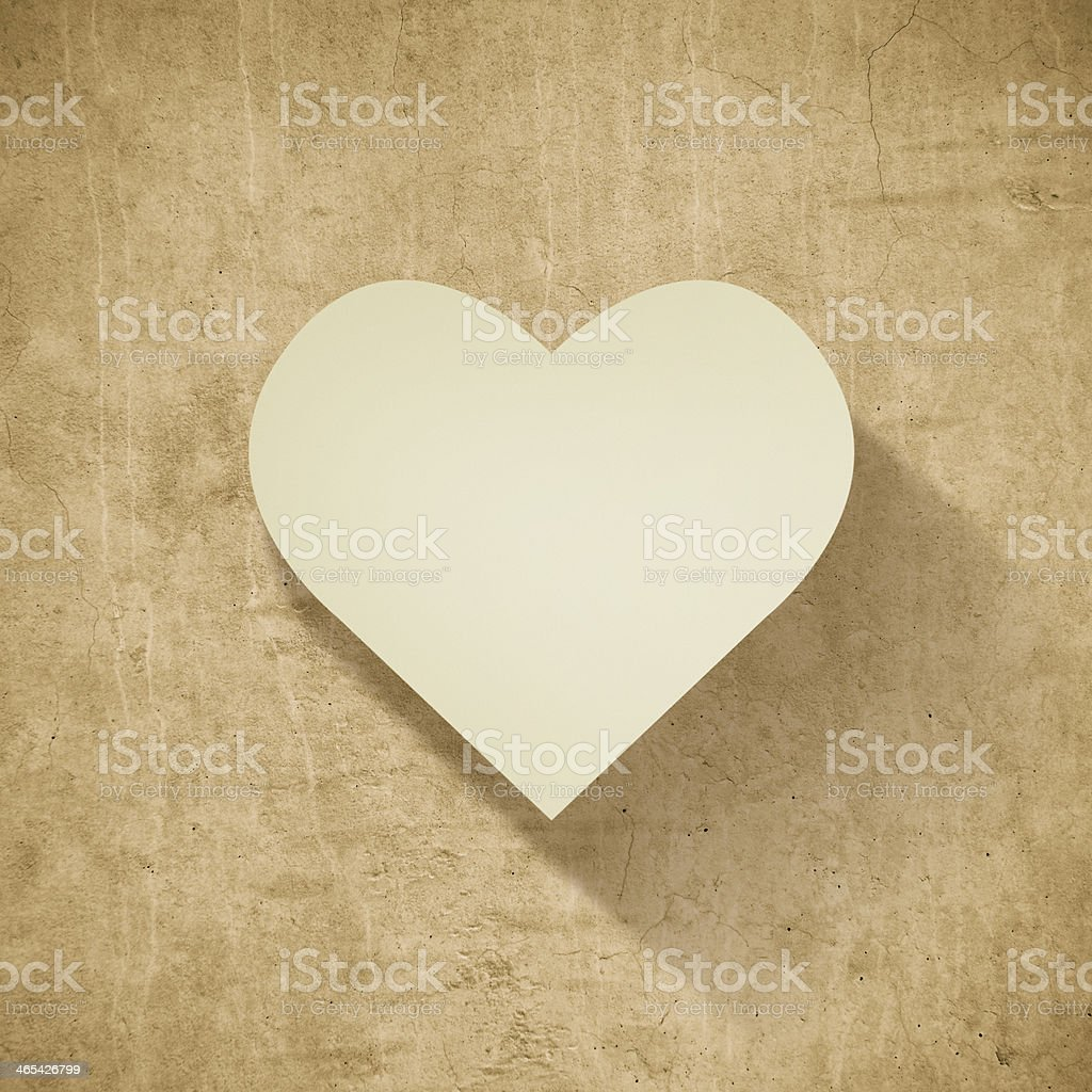 Love card for St. Valentine's day royalty-free stock photo