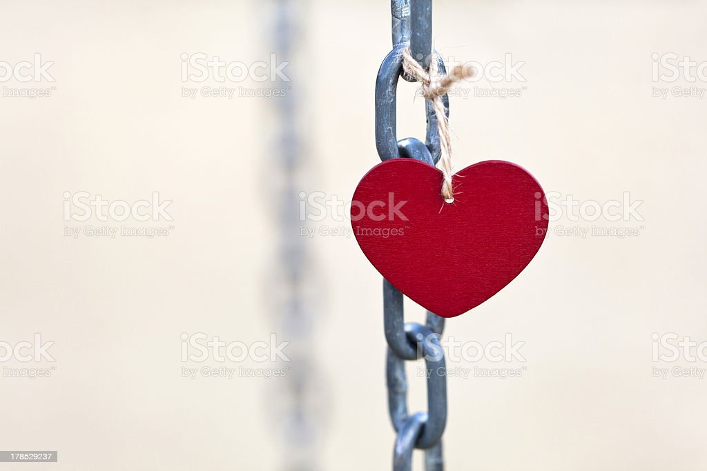 Love chain royalty-free stock photo