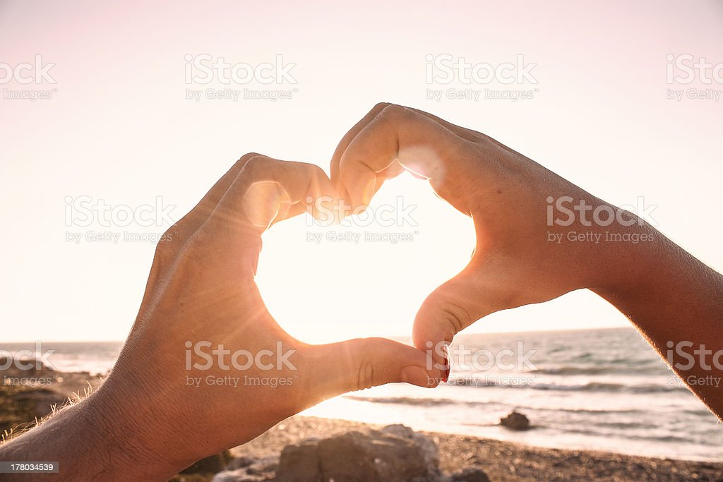Love connection stock photo
