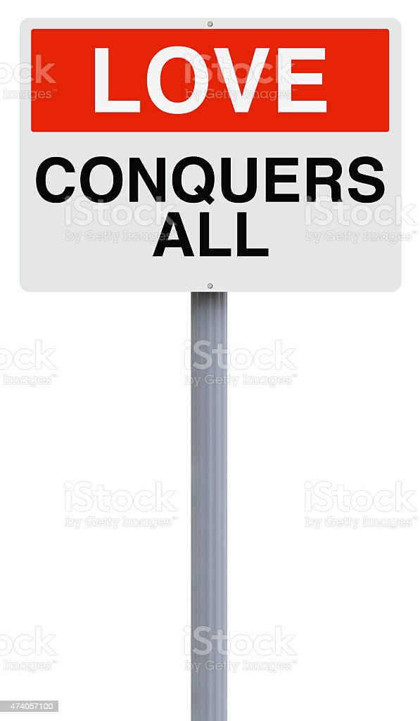 Love Conquers All stock photo