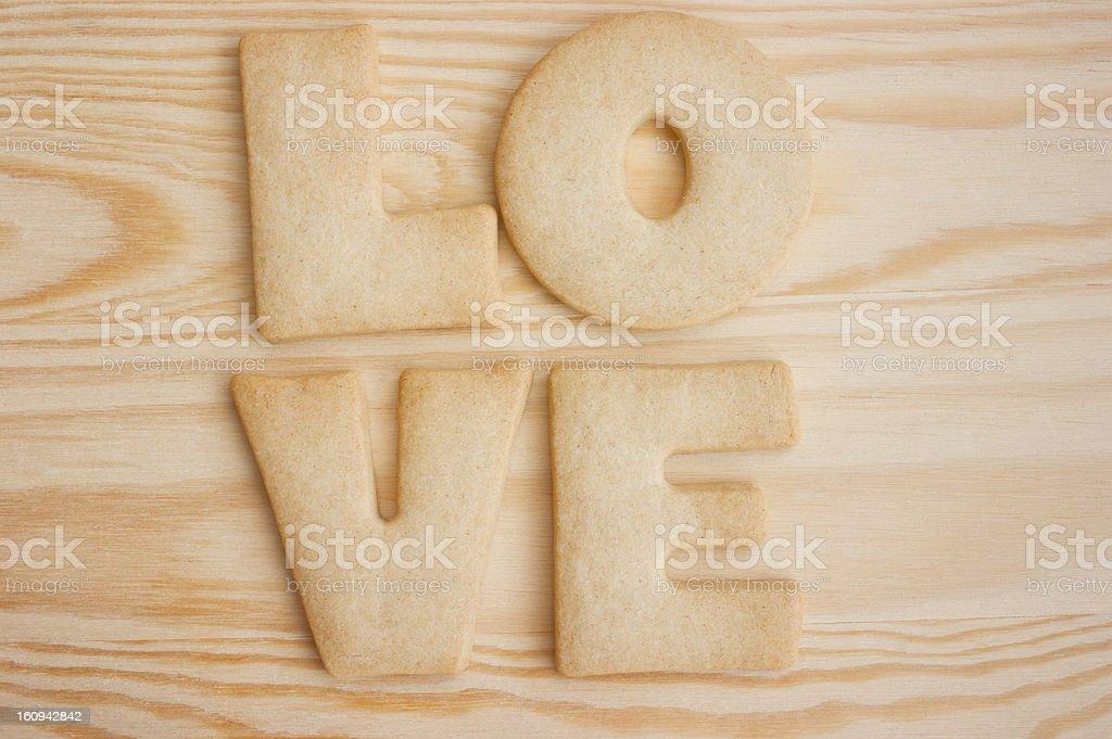 Love cookies royalty-free stock photo