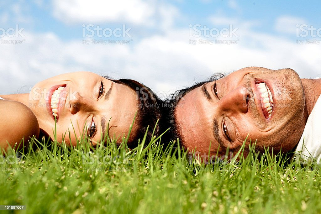 Love couple royalty-free stock photo