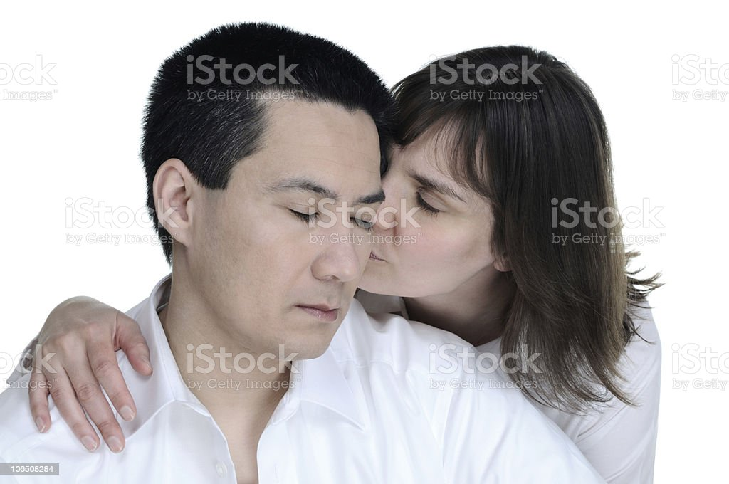 Love Couple Sympathy and Enjoy stock photo