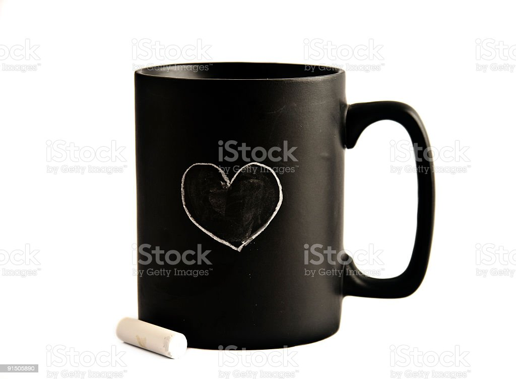 Love cup stock photo