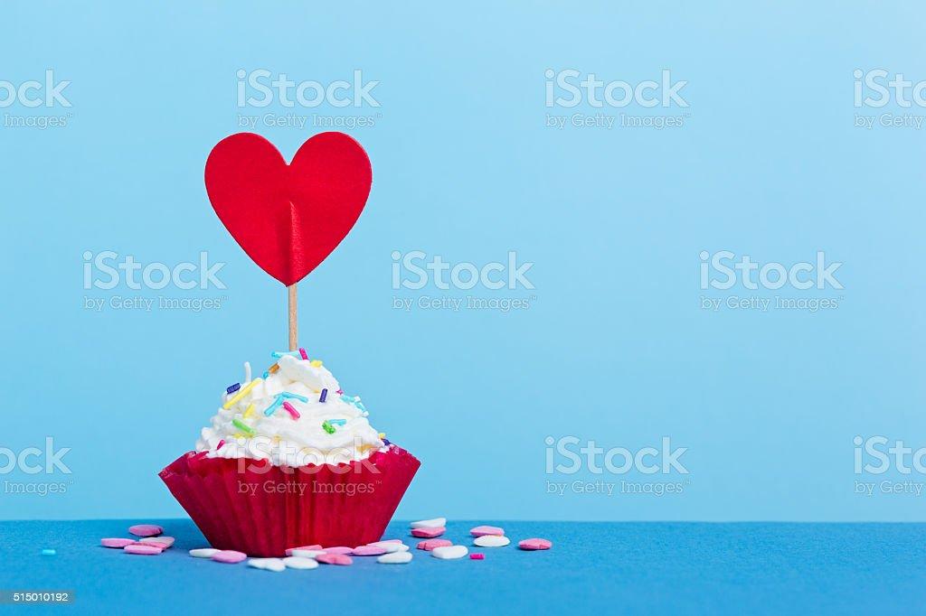 Love cupcake stock photo