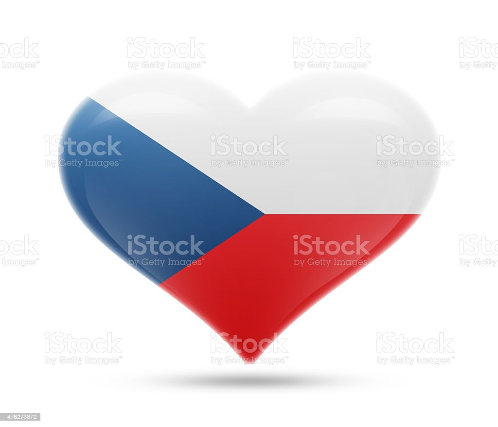 Love Czech Republic, Prague stock photo