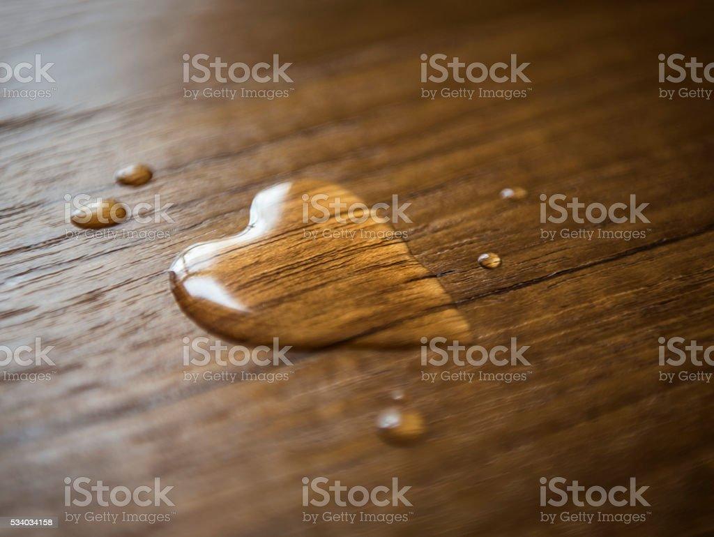 Love Drops stock photo