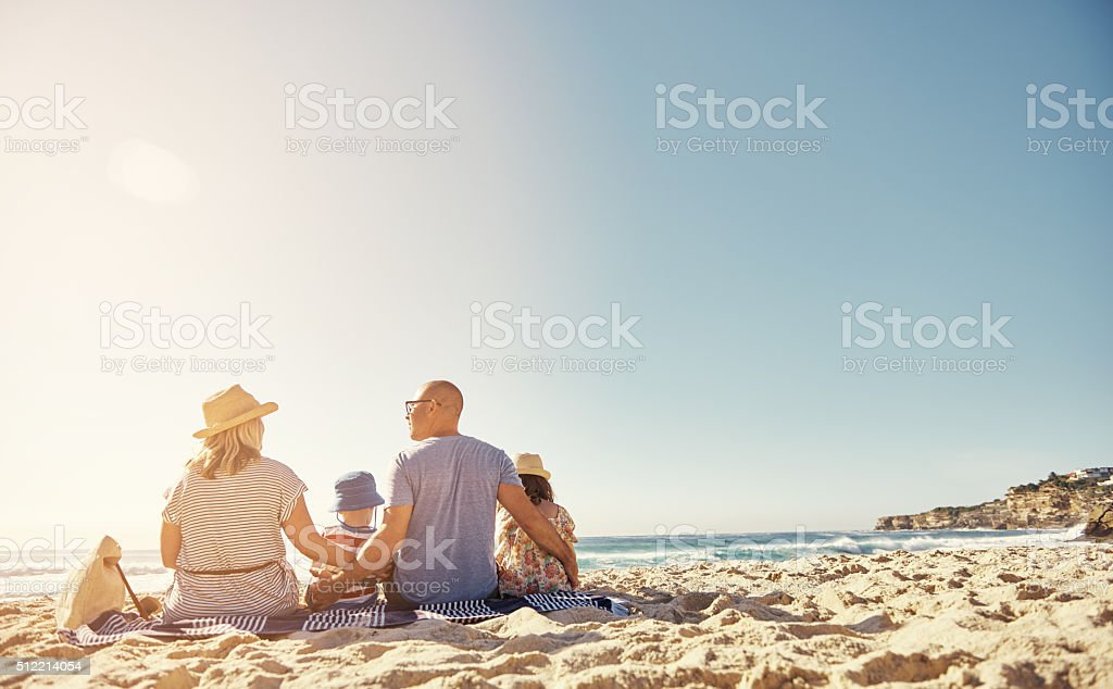Love each other every day stock photo