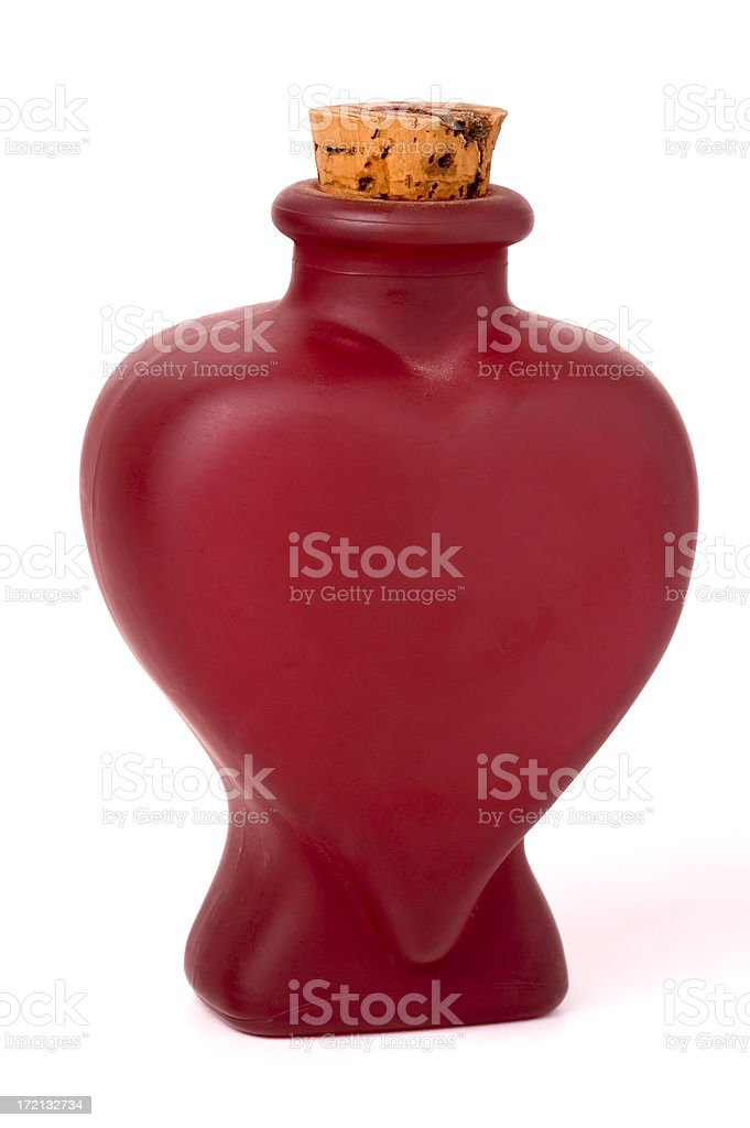 love elixir bottle royalty-free stock photo