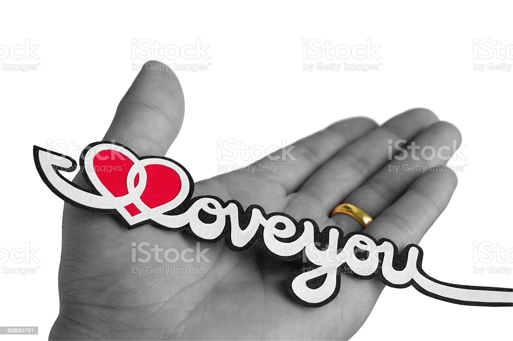 Love & Faith 2 royalty-free stock photo