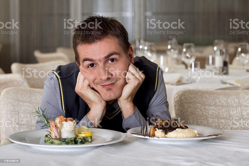 I love food royalty-free stock photo