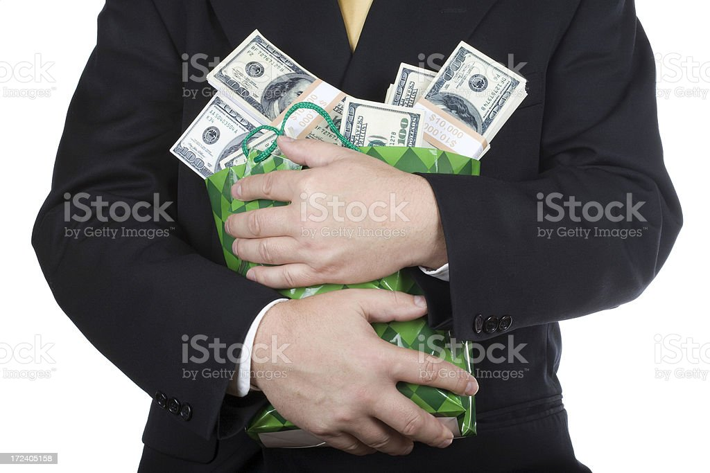 Love for money royalty-free stock photo