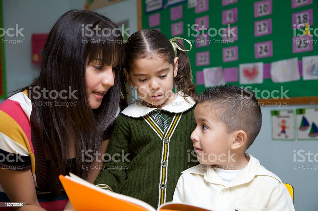 Love for reading royalty-free stock photo
